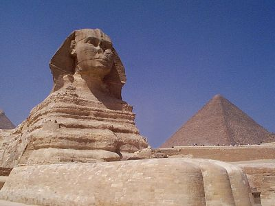 Great sphinx of giza a symbol of the essence of egyptian civilization