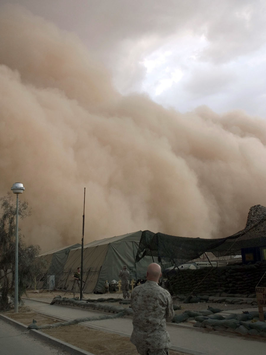 3. No Human Power Can Stop the Dry