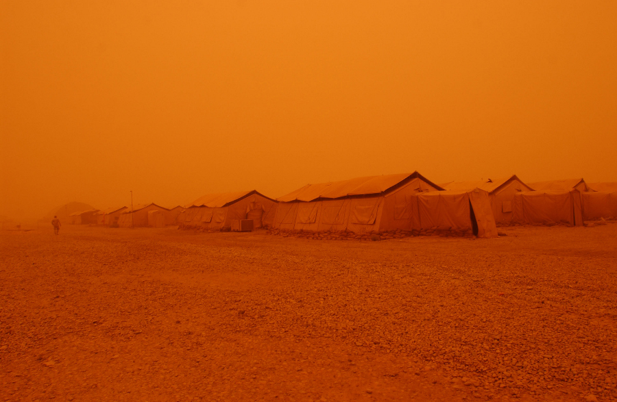 1. The Strong, Dry Desert