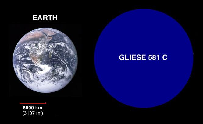 Gliese 581  définition de Gliese 581 et synonymes de
